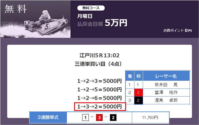 必勝モーターボート4/10の無料情報