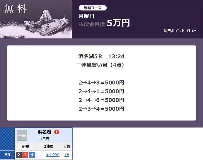 必勝モーターボート7/1の無料情報的中