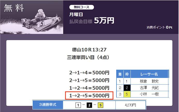 必勝モーターボート3/27の無料情報