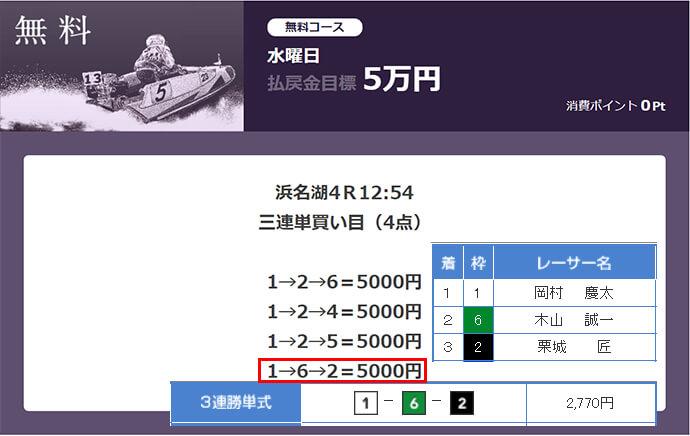 必勝モーターボート5/17の無料情報