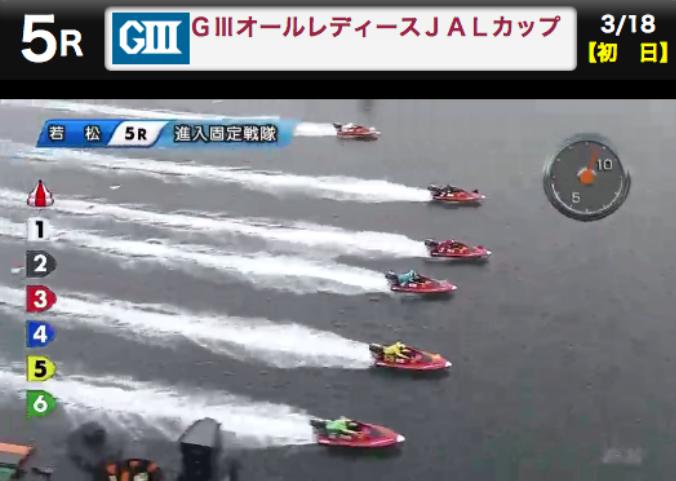 競艇スタート瞬間の画像2