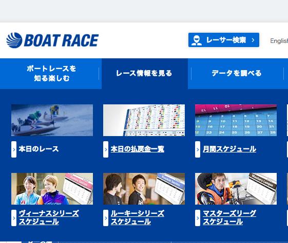 本日のボートレース